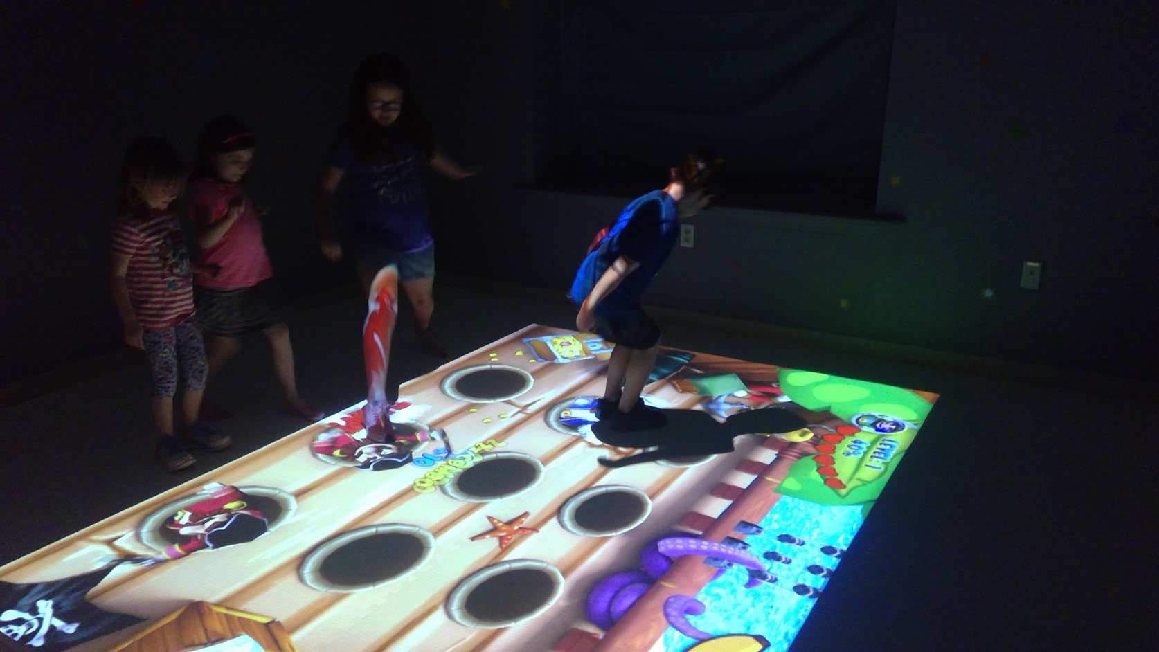 kids party venue beam game